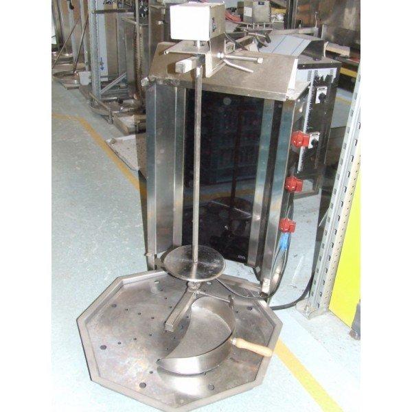 """""""OZTI"""" electric gyros maker Gyros grill"""